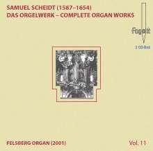 Samuel Scheidt (1587-1654): Das Orgelwerk Vol.11, 2 CDs