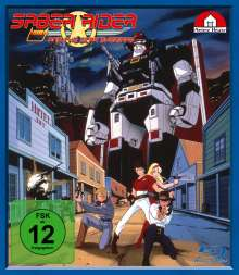 Saber Rider And The Star Sheriffs (Komplette Serie) (Blu-ray), 4 Blu-ray Discs