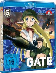 Gate Vol. 6 (Blu-ray), Blu-ray Disc