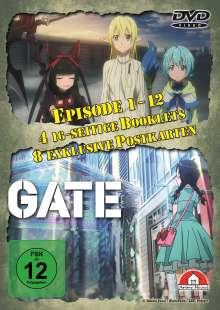 Gate Staffel 1 (Gesamtausgabe), 4 DVDs