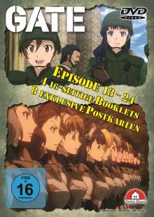 Gate Staffel 2 (Gesamtausgabe), 4 DVDs