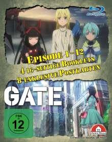 Gate Staffel 1 (Gesamtausgabe) (Blu-ray), 4 Blu-ray Discs