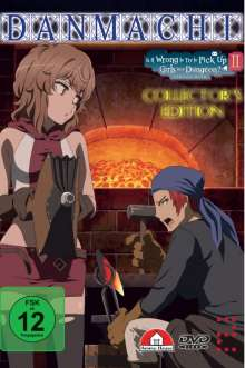 DanMachi - Is It Wrong to Try to Pick Up Girls in a Dungeon? Vol. 2 (Limited Collector's Edition), DVD