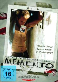 Memento, DVD