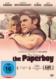 The Paperboy, DVD