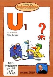 U1, Unter der Erde, DVD, DVD