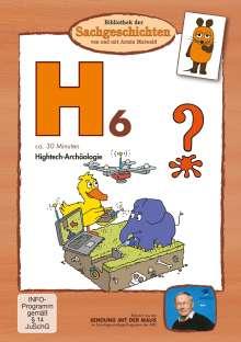 Bibliothek der Sachgeschichten - H6 (Hightech-Archäologie), DVD