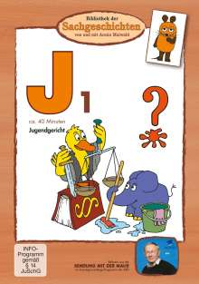 Bibliothek der Sachgeschichten - J1 (Jugendgericht), DVD