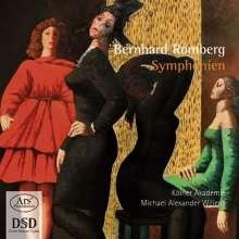 Bernhard Romberg (1767-1841): Symphonien Nr.2 & 3, SACD