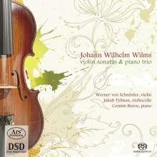 Johann Wilhelm Wilms (1772-1847): Sonaten für Violine & Klavier in E & B (opp.11 & 29), Super Audio CD
