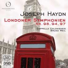 Joseph Haydn (1732-1809): Symphonien Nr.94,97,98, Super Audio CD