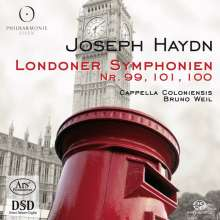 Joseph Haydn (1732-1809): Symphonien Nr.99-101, Super Audio CD
