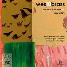 Wes10brass - Blech aus dem Westen (Very British), Super Audio CD