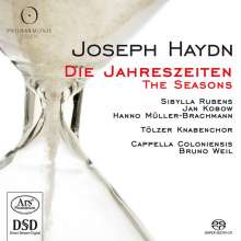 Joseph Haydn (1732-1809): Die Jahreszeiten, 2 SACDs