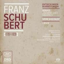 """Franz Schubert (1797-1828): Chorwerke - """"Entdeckungen & Bearbeitungen"""", Super Audio CD"""