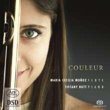 Maria Cecilia Munoz & Tiffany Butt - Couleur, Super Audio CD