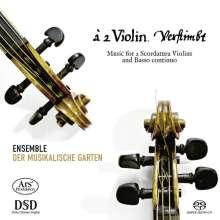 a 2 Violin. verstimbt - Musik für 2 skordierte Violinen & Bc, SACD