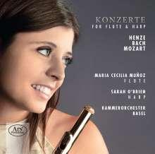 Maria Cecilia Munoz - Konzert für Flöte & Harfe, Super Audio CD