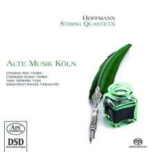 Heinrich Anton Hoffmann (1770-1842): Streichquartette op.3 Nr.1-3, SACD