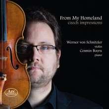 Werner von Schnitzler & Cosmin Boeru - From My Homeland, SACD