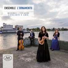 Ensemble L'Ornamento - Händel / Vivaldi, Super Audio CD