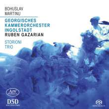 Bohuslav Martinu (1890-1959): Concertino für Klaviertrio & Streicher, SACD