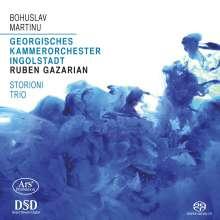 Bohuslav Martinu (1890-1959): Concertino für Klaviertrio & Streicher, Super Audio CD