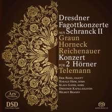 Dresdner Fagottkonzerte aus Schranck II, SACD
