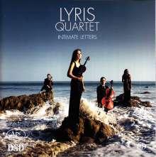 Lyris Quartet - Intimate Letters, Super Audio CD