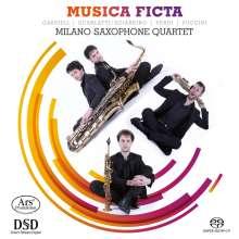 Milano Saxophone Quartet - Musica Ficta, Super Audio CD