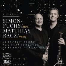 Antonio Vivaldi (1678-1741): Fagottkonzerte RV 483,484,493, Super Audio CD