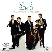 Veits Quintet - Ravel / Francaix / Taffanel / Ibert, Super Audio CD