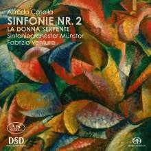 Alfredo Casella (1883-1947): Symphonie Nr.2 op.12, SACD
