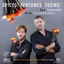 """Avner Dorman (geb. 1975): Konzert für 2 Schlagzeuger & Orchester """"Spices, Perfumes, Toxins!"""", SACD"""