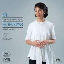 Leticia Gomez-Tagle - Si! Sonatas., SACD