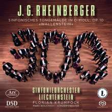 "Josef Rheinberger (1839-1901): Symphonisches Tongemälde op.10 ""Wallenstein"", Super Audio CD"