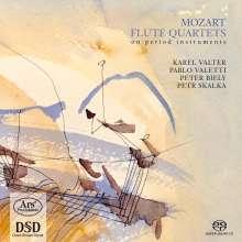 Wolfgang Amadeus Mozart (1756-1791): Flötenquartette Nr.1-4, SACD