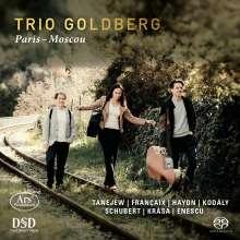 Trio Goldberg - Paris - Moscou, Super Audio CD