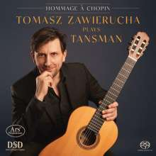 "Alexandre Tansman (1897-1986): Gitarrenwerke ""Selected Concert Guitar Works"", Super Audio CD"