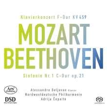Wolfgang Amadeus Mozart (1756-1791): Klavierkonzert Nr.19, Super Audio CD