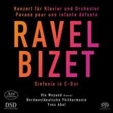 Maurice Ravel (1875-1937): Klavierkonzert G-Dur, Super Audio CD