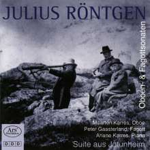 Julius Röntgen (1855-1932): Oboensonaten Nr.1 & 2, CD