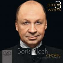 Boris Bloch - Klavierwerke Vol.3, CD