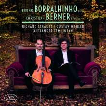 Bruno Borralhinho & Christoph Berner - Richard Strauss / Gustav Mahler / Alexander Zemlinsky, CD