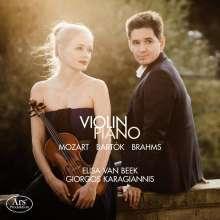 Elisa van Beek & Giorgos Karagiannis - Violina Piano, CD