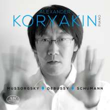 Alexander Koryakin - Mussorgsky / Debussy / Schumann, CD