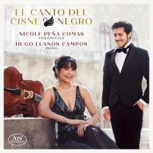 Nicole Pena Comas & Hugo Llanos Campos - Il Canto Del Cisne Negro, CD