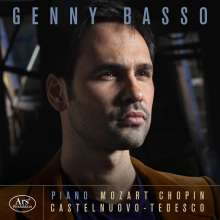 Genny Basso - Mozart / Chopin / Castelnuovo-Tedesco, CD