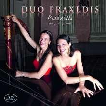 Duo Praxedis - Piazzolla für Harfe & Klavier, 2 CDs