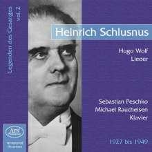 Legenden des Gesanges Vol.2 - Heinrich Schlusnus, CD